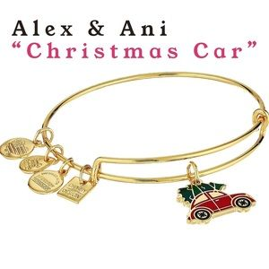 Alex & Ani Christmas Car bangle